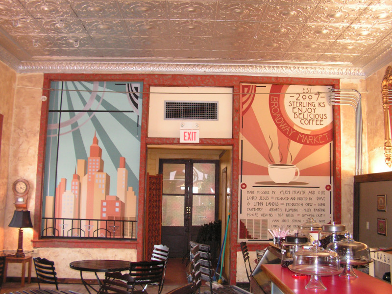 Murals for Mural coffee shop